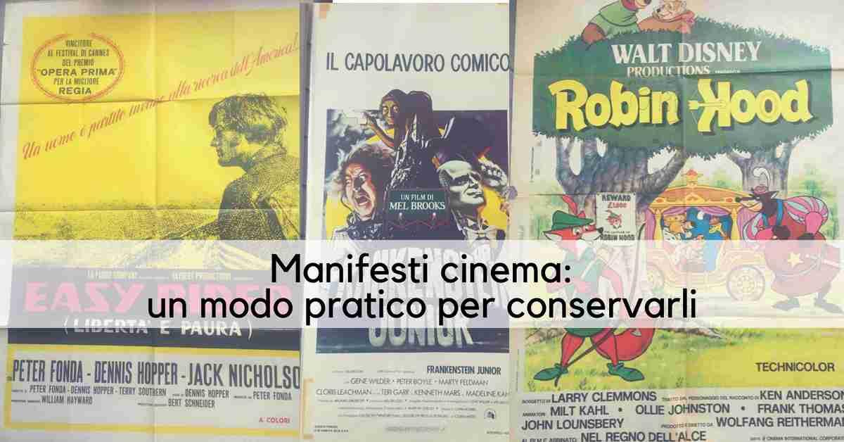 manifesti cinema_un modo pratico per conservarli
