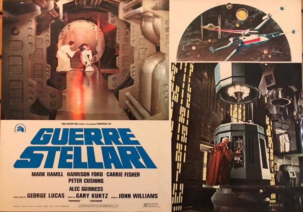 fotobusta guerre stellari 1977