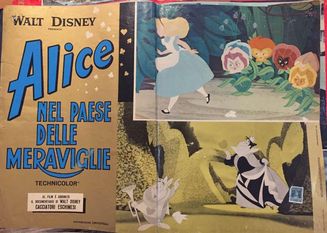Fotobusta Alice nel Paese delle Meraviglie-1