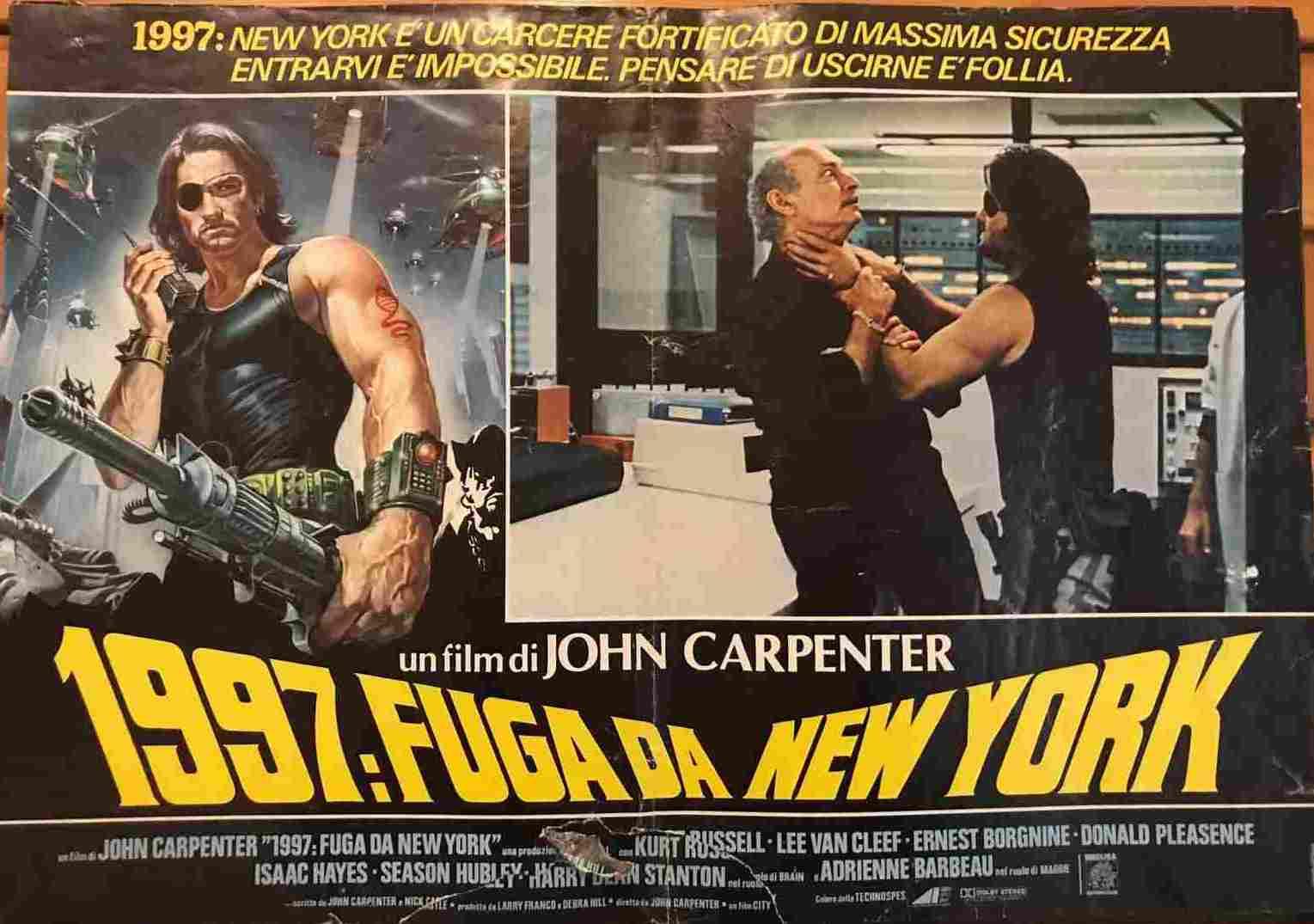 Fotobusta 1997 Fuga da New York