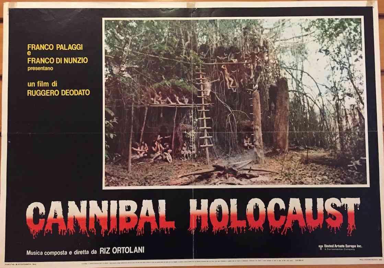 Fotobusta Cannibal Holocaust