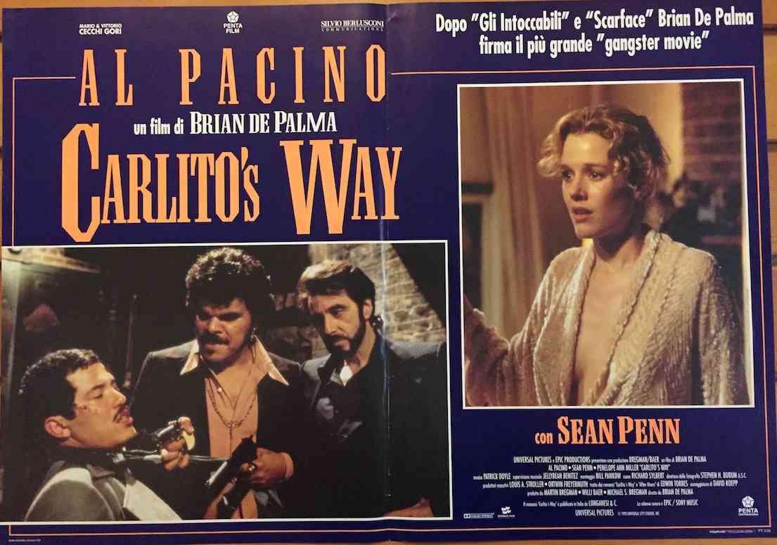 Fotobusta Carlito's Way