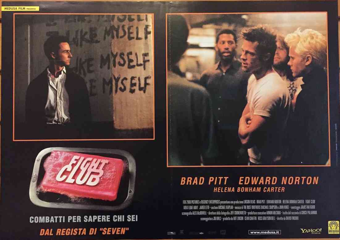 Fotobusta Fight Club