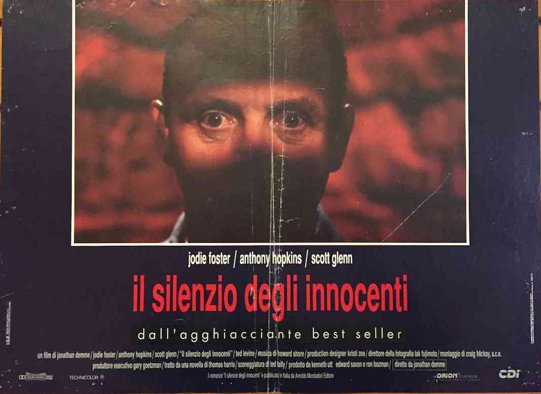 Fotobusta Il Silenzio degli Innocenti