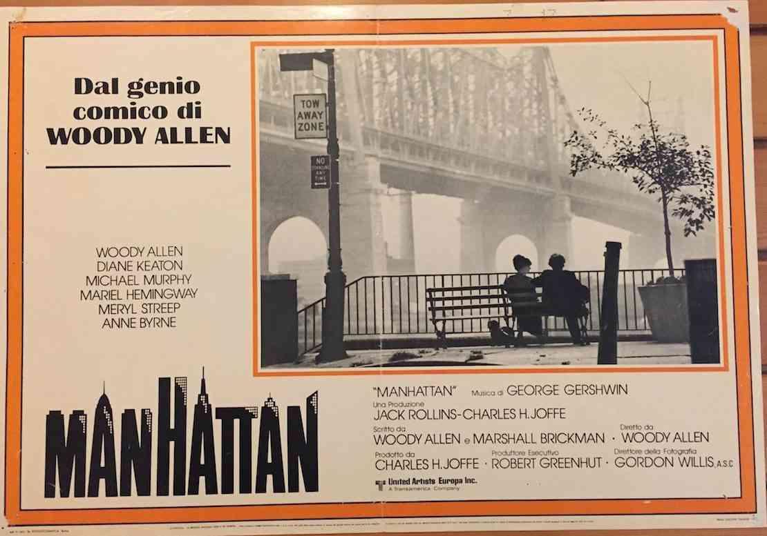 Fotobusta Manhattan
