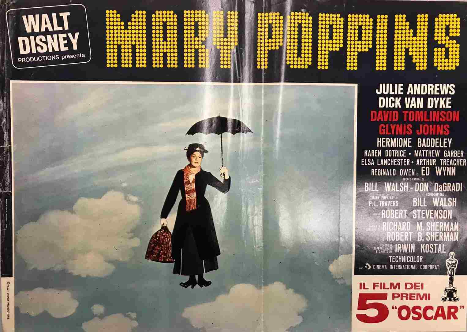 Fotobusta Mary Poppins