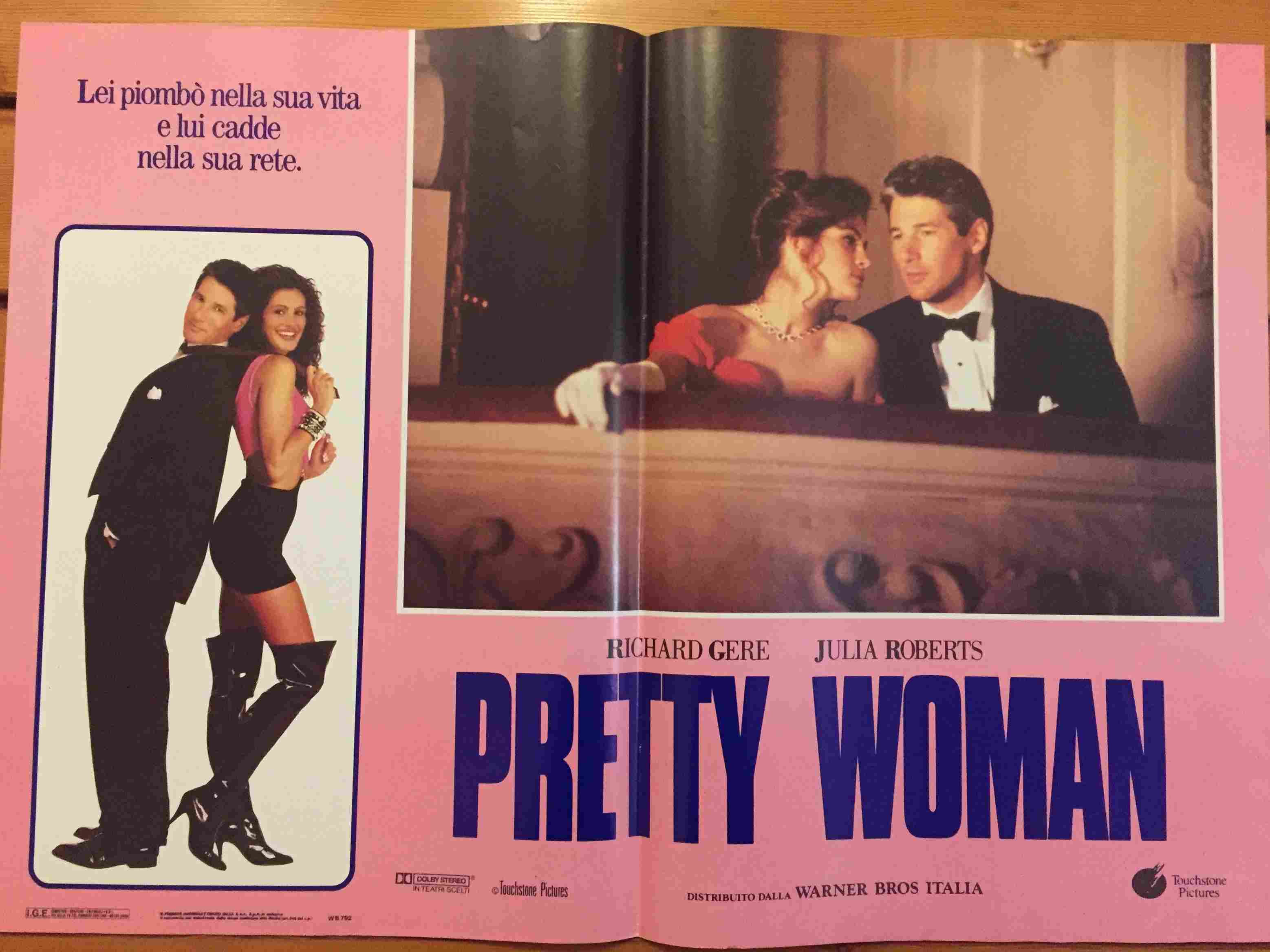 Fotobusta Pretty Woman