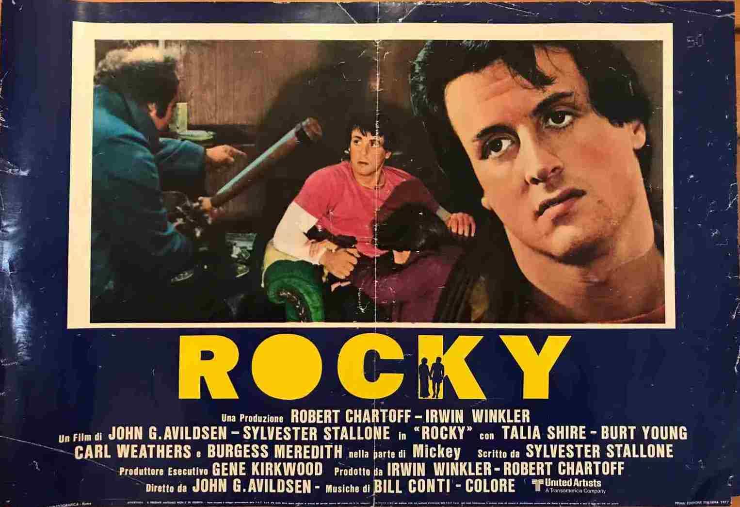 Fotobusta Rocky