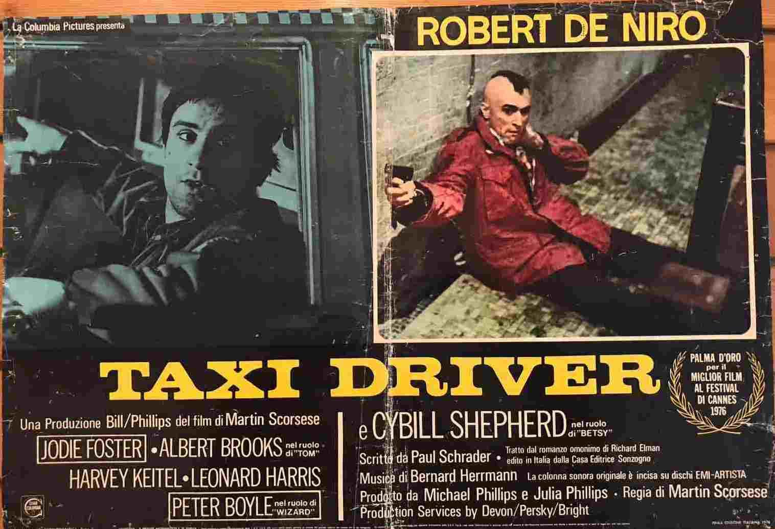 Fotobusta Taxi Driver