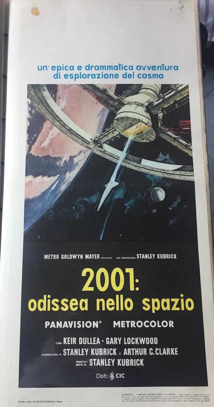 Locandina 2001 odissea nello spazio