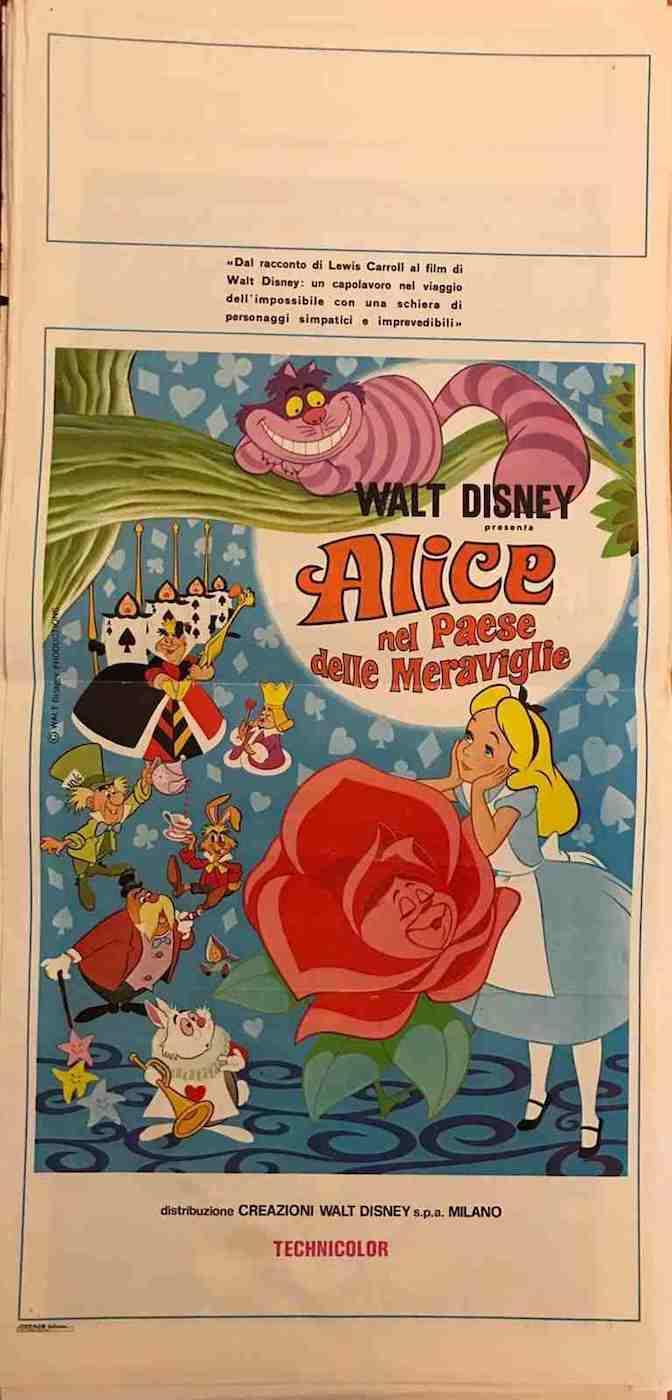 Locandina Alice nel Paese delle Meraviglie