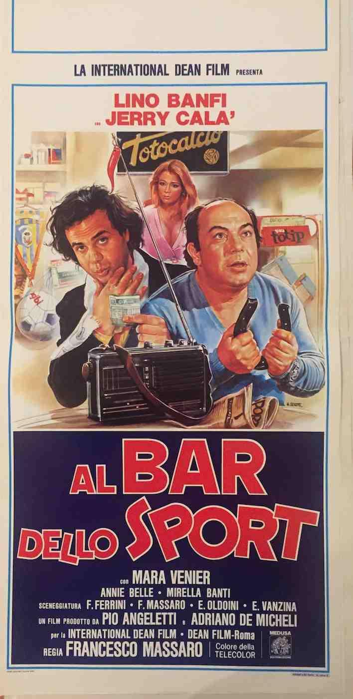 Locandina Al Bar dello Sport