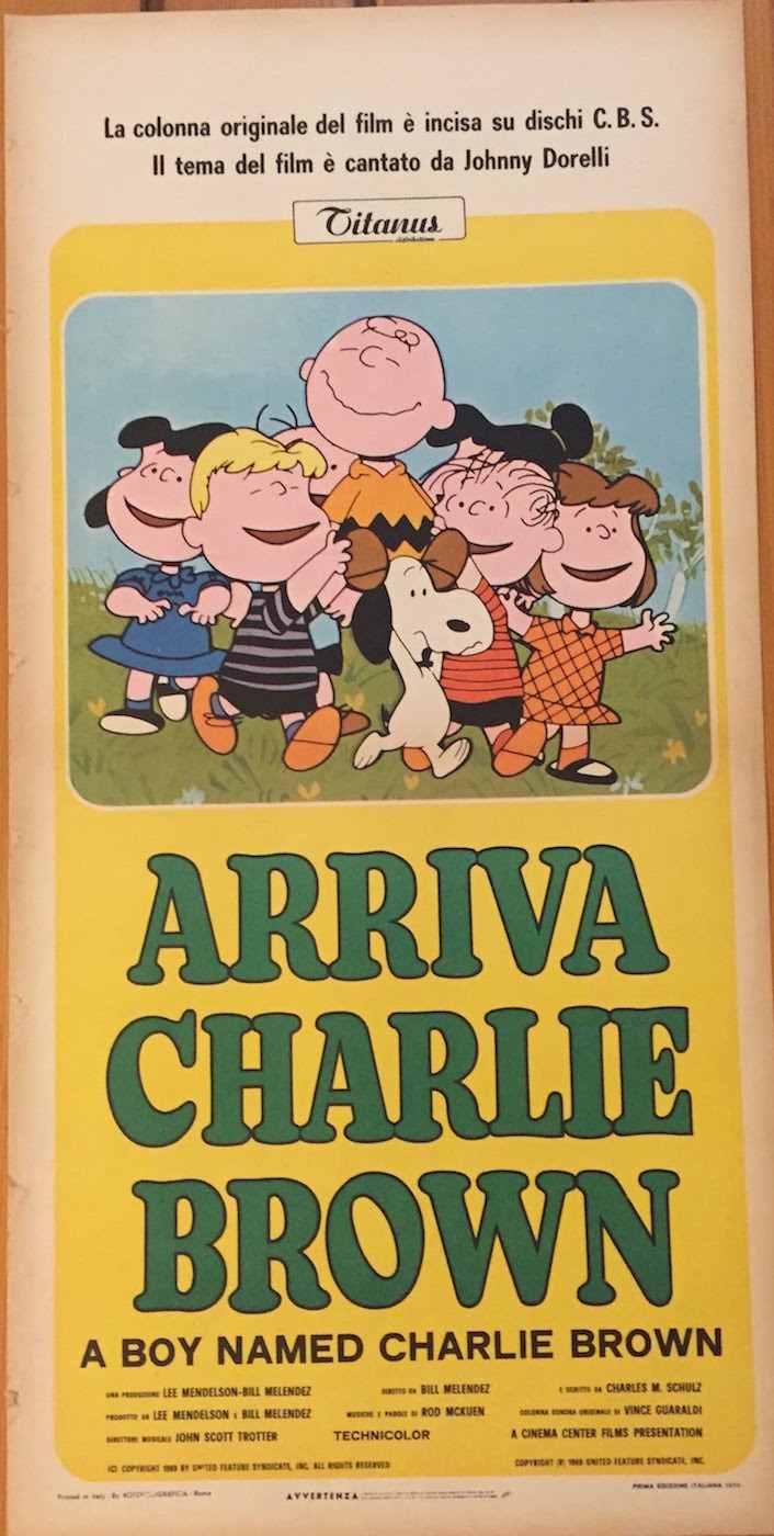 Locandina Arriva Charlie Brown