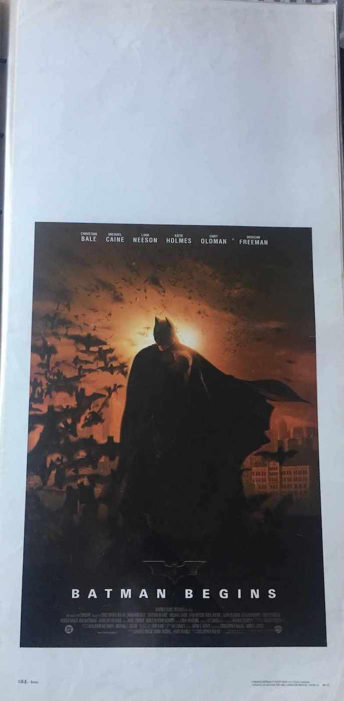 Locandina Batman Begin