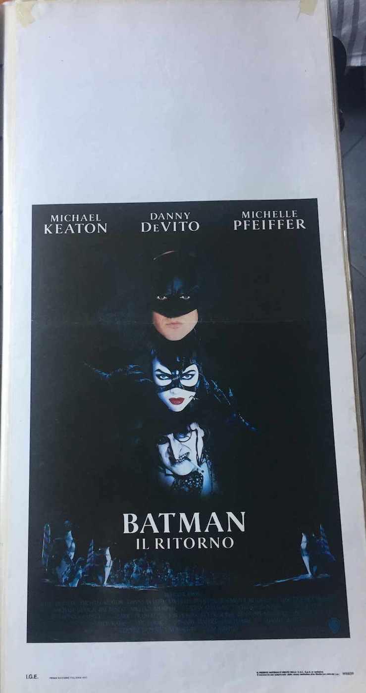 Locandina Batman il Ritorno