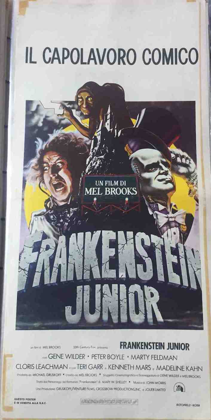Locandina Frankenstein Junior