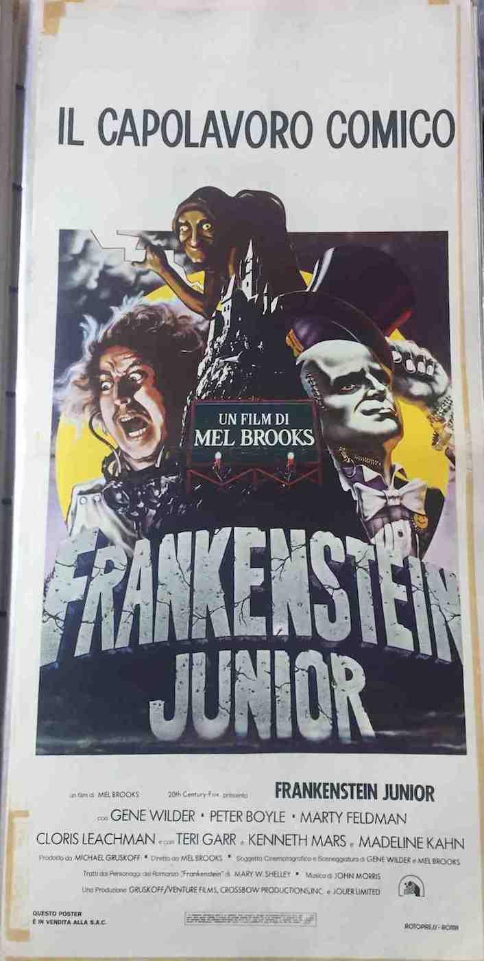 Locandina Frankenstein Junior