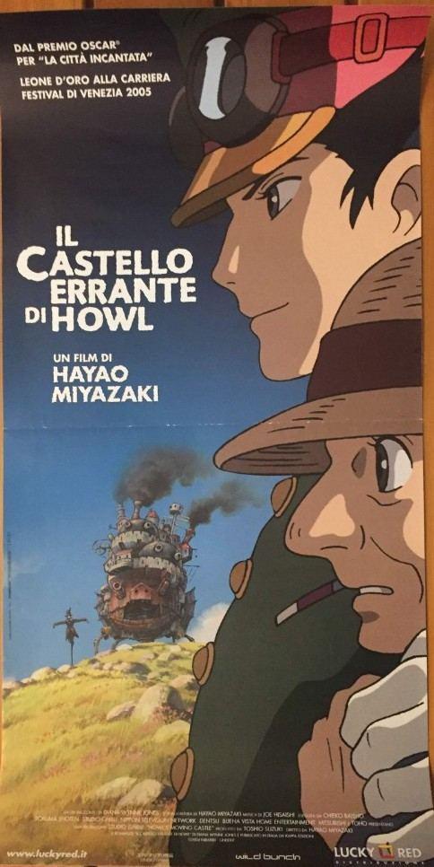 Locandina il Castello Errante di Howl