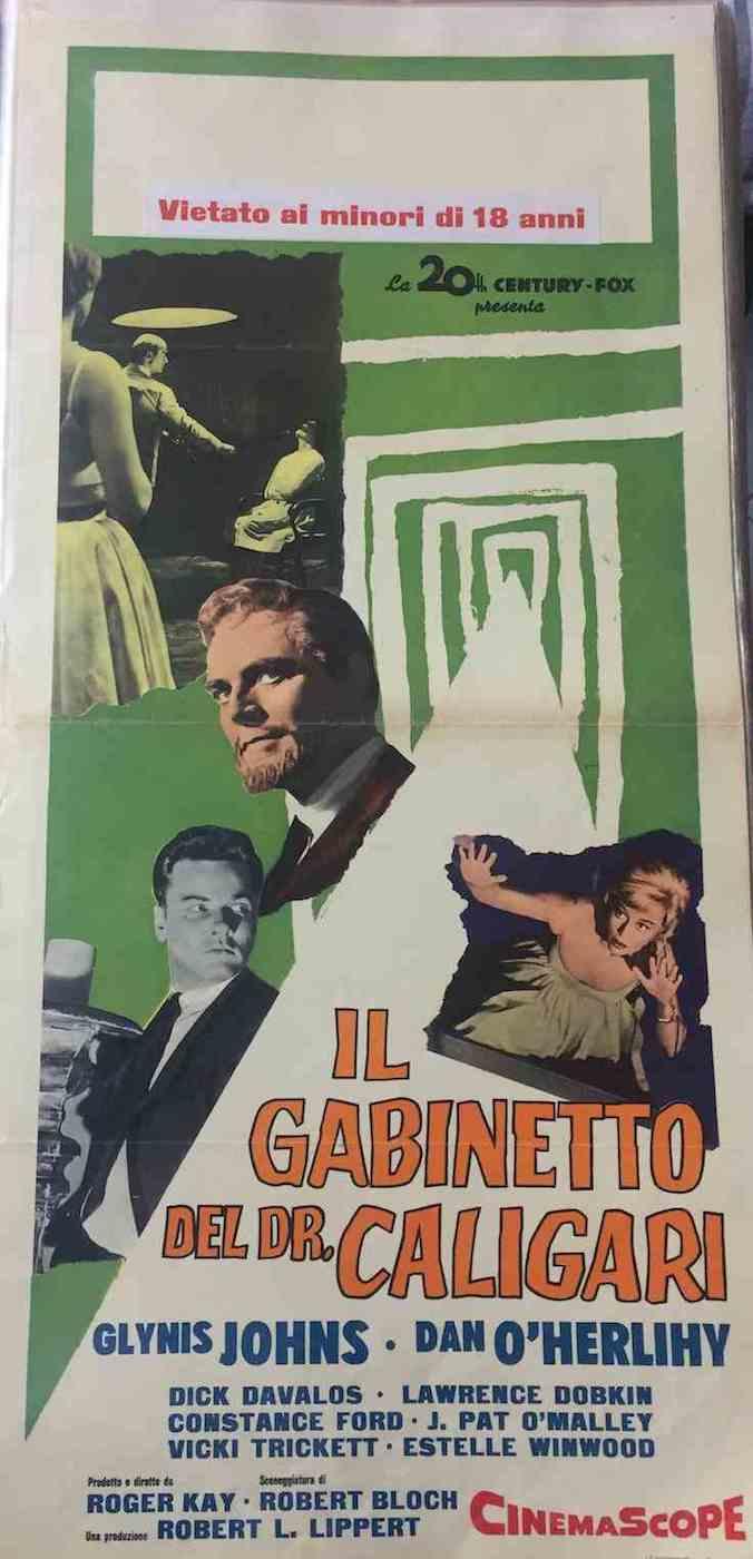 Locandina il Gabinetto del Dr. Caligari