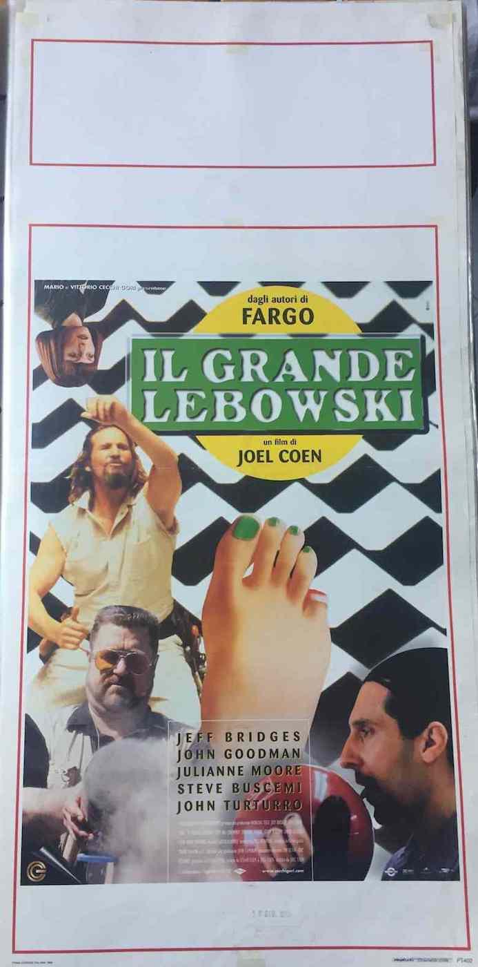 Locandina Il Grande Lebowski