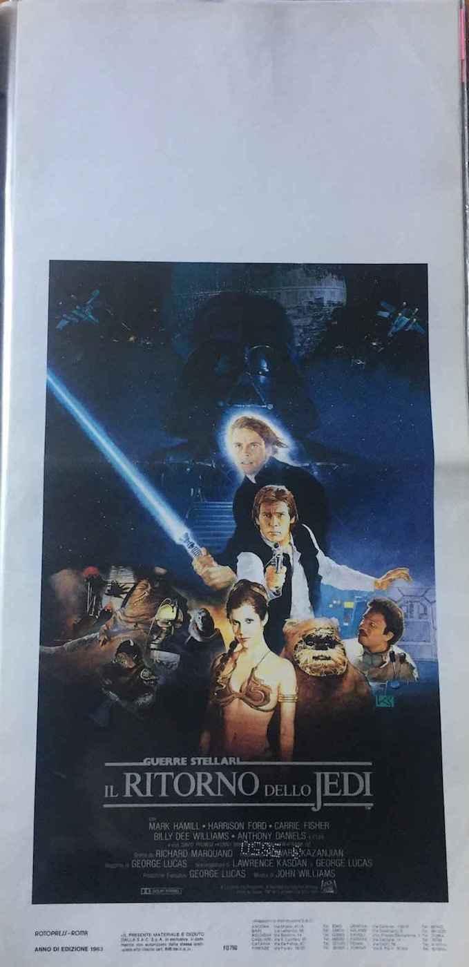 Locandina il Ritorno dello Jedi 1983