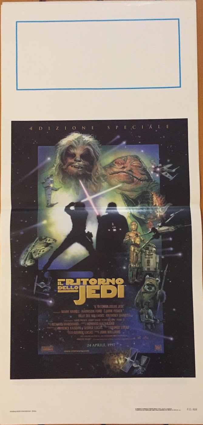 Locandina Il Ritorno dello Jedi 97