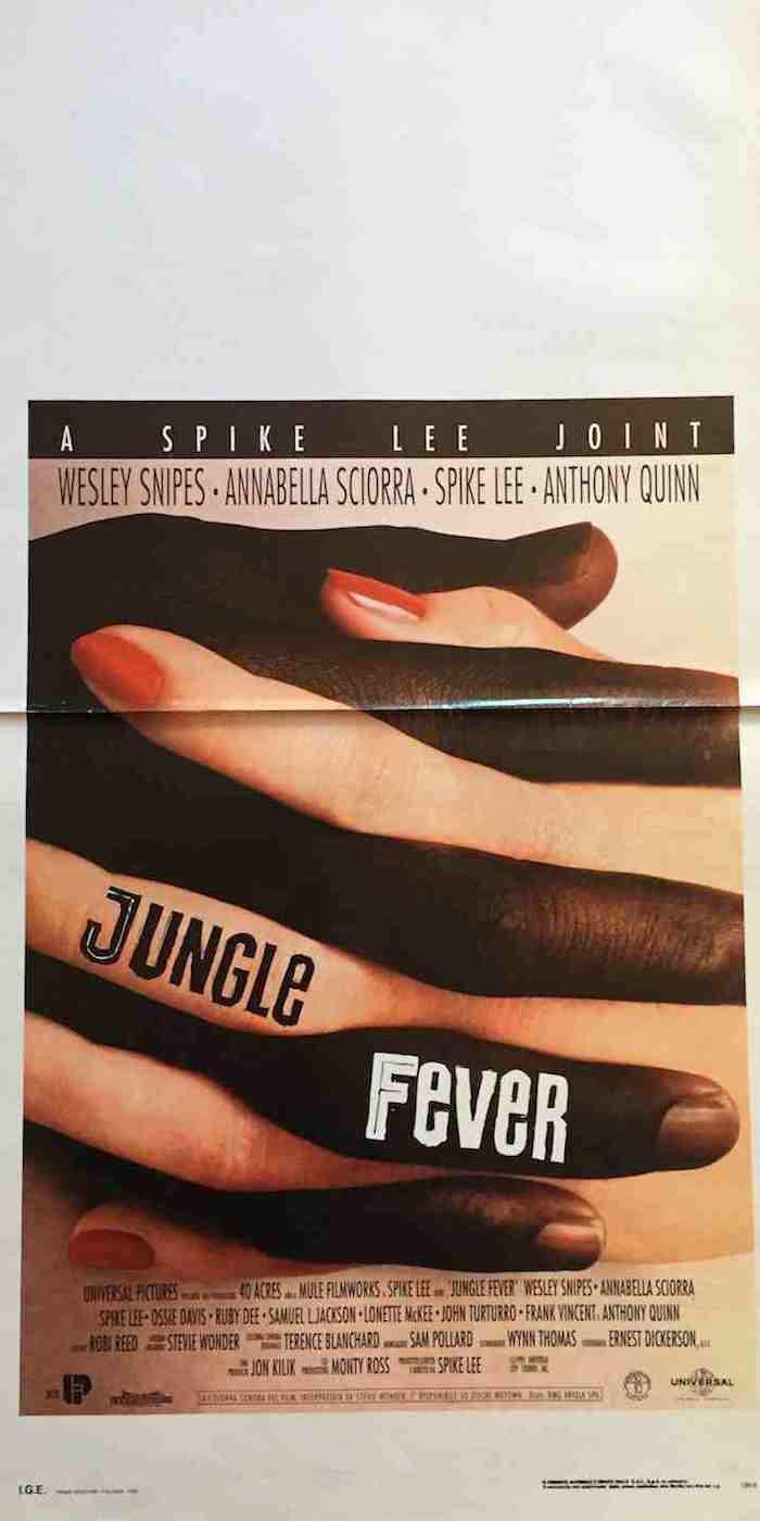 Locandina Jungle Fever
