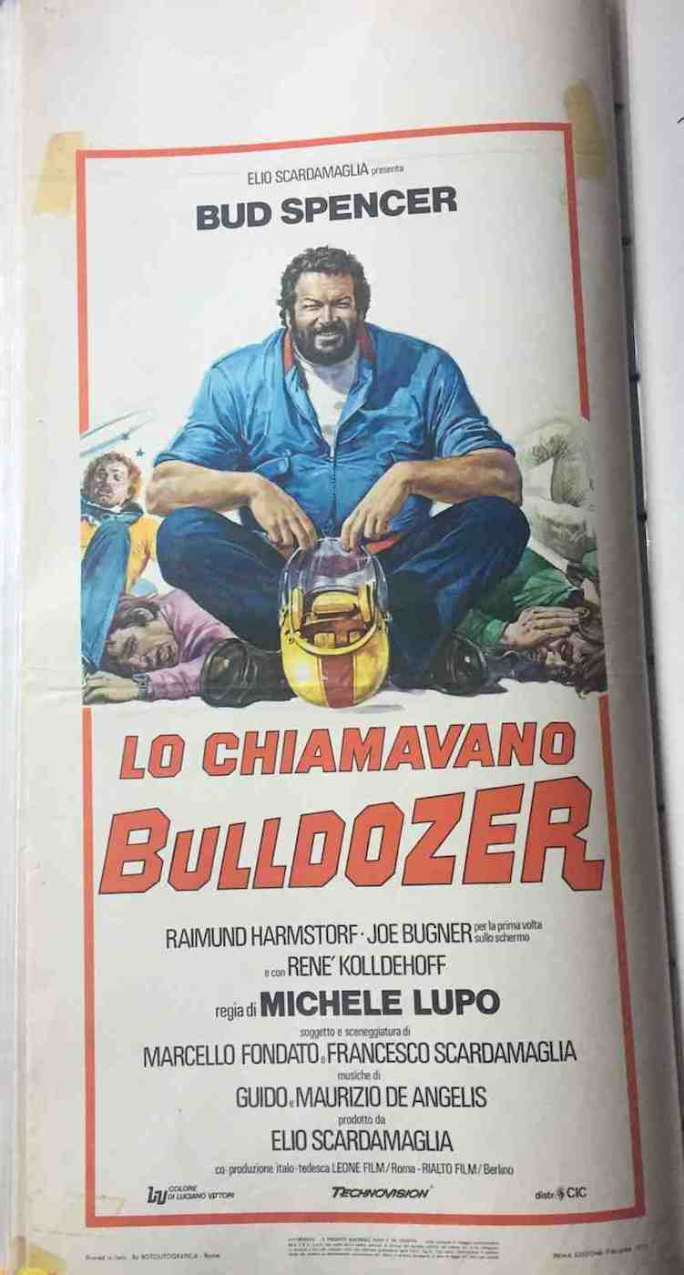 Locandina Lo Chiamavano Bulldozer