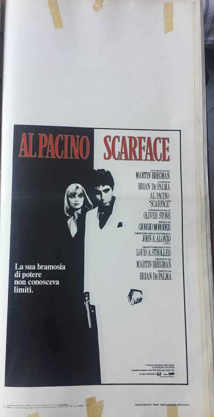 Locandina Scarface