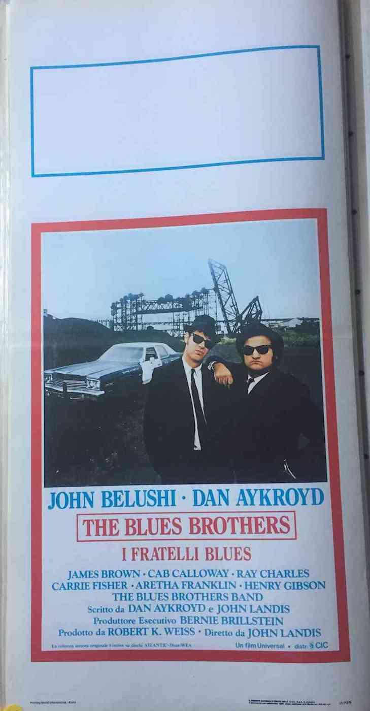 Locandina The Blues Brothers