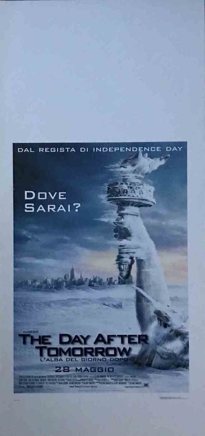 Locandina The Day After Tomorrow