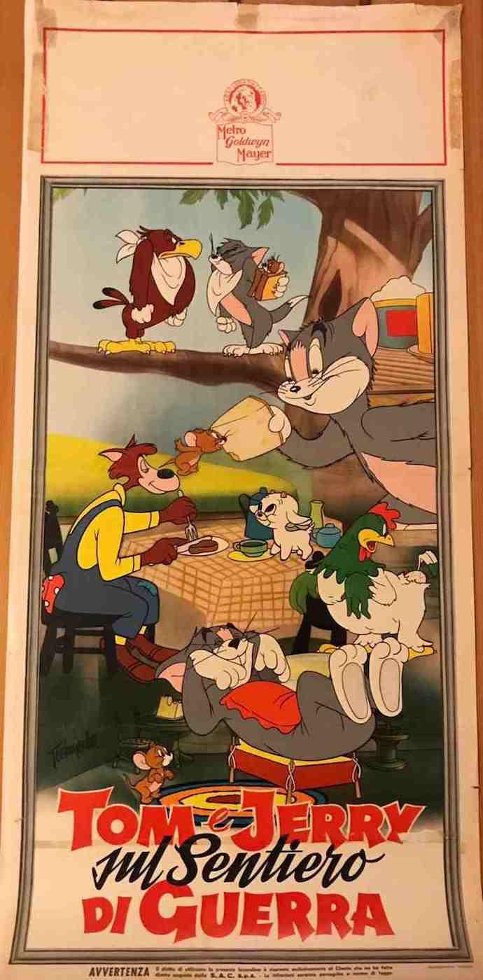 Locandina Tom e Jerry sul Sentiero di Guerra