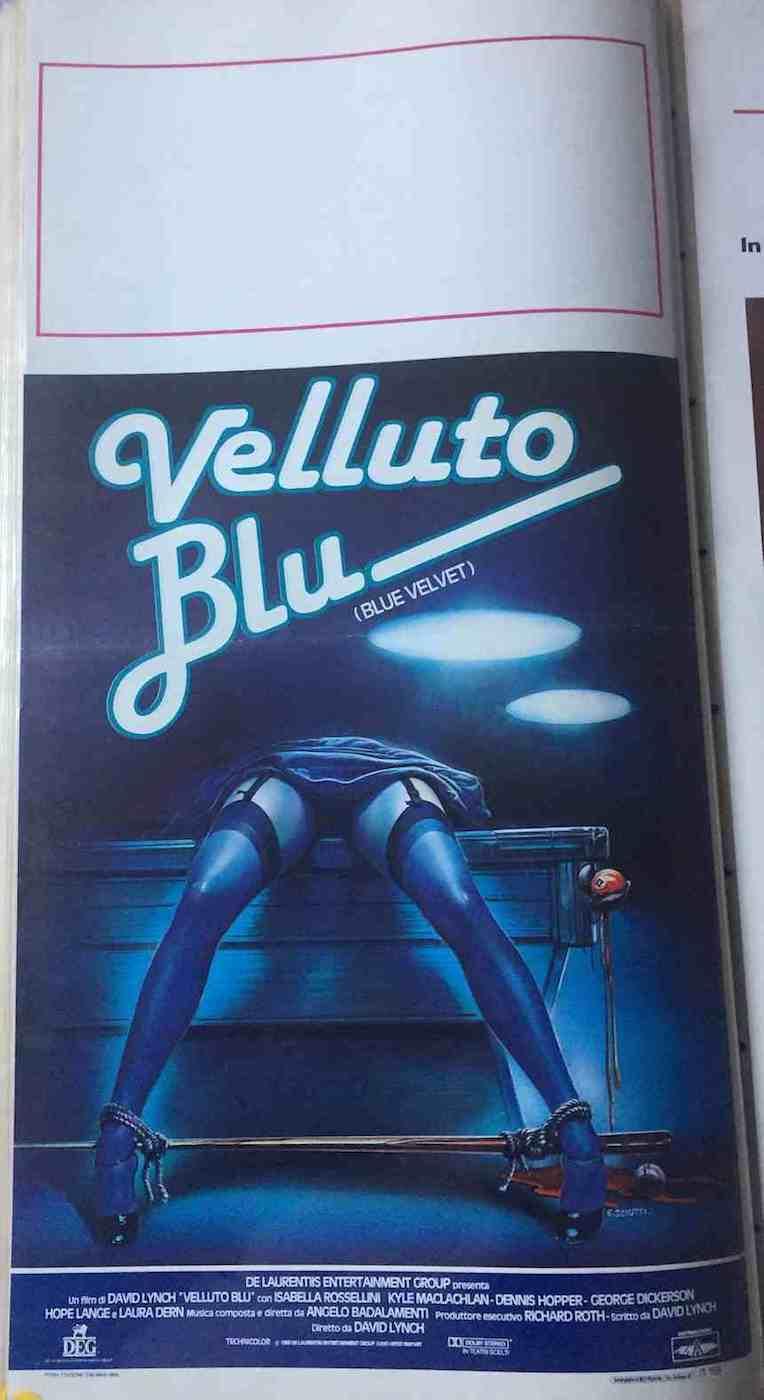 Locandina Velluto Blu