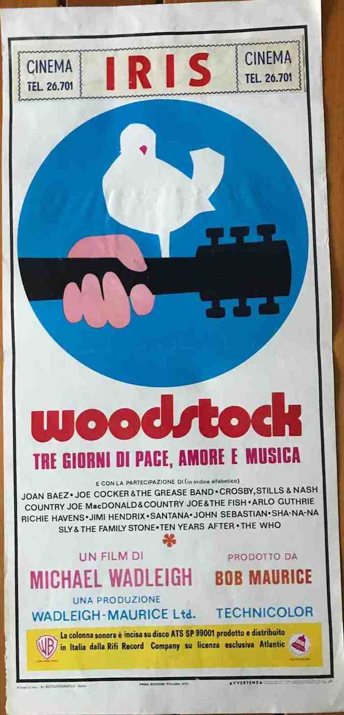 Locandina Woodstock