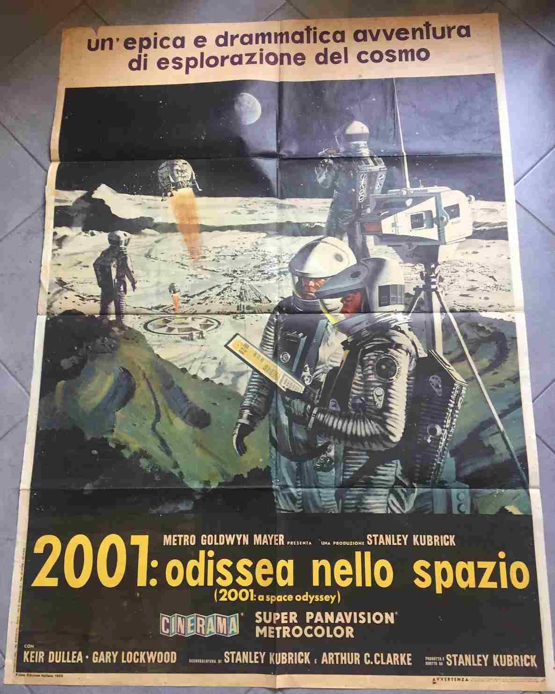 manifesto 2001 odissea nello spazio