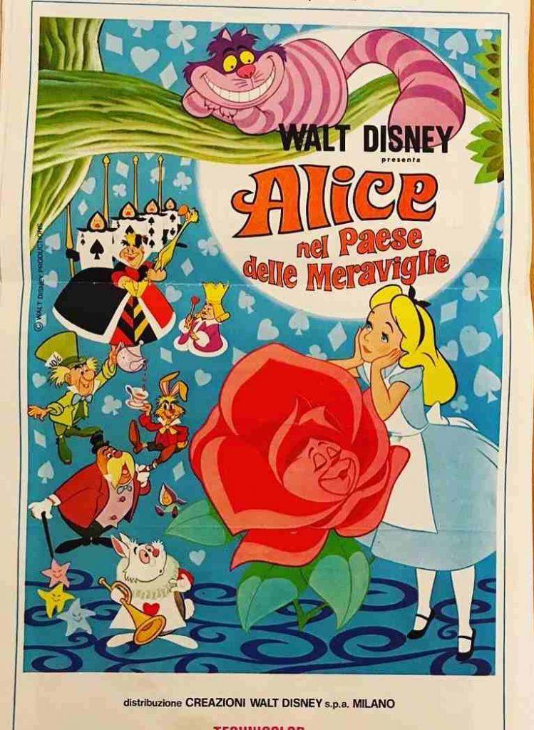 manifesto Alice nel paese delle meraviglie