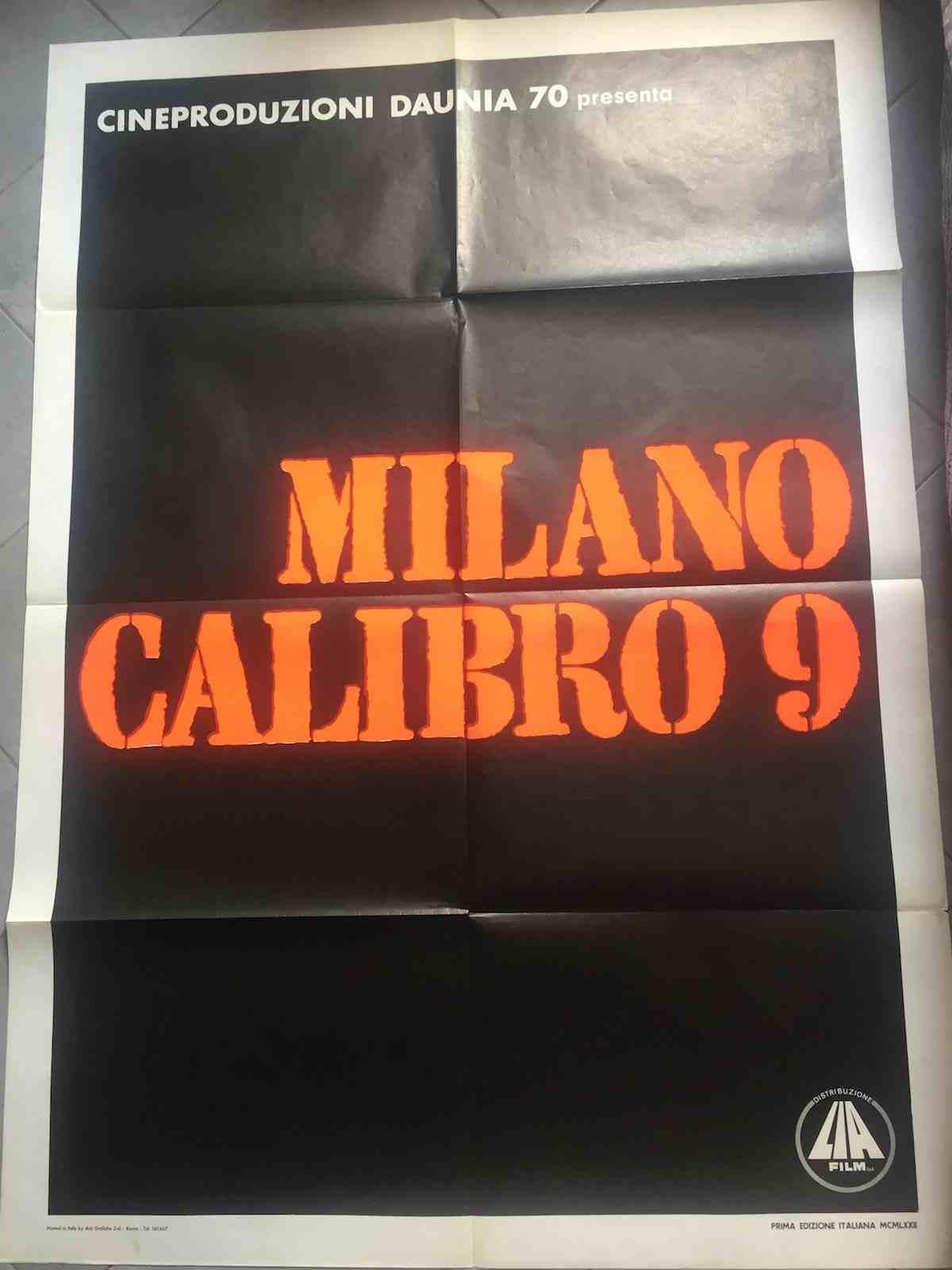 manifesto Milano Calibro 9