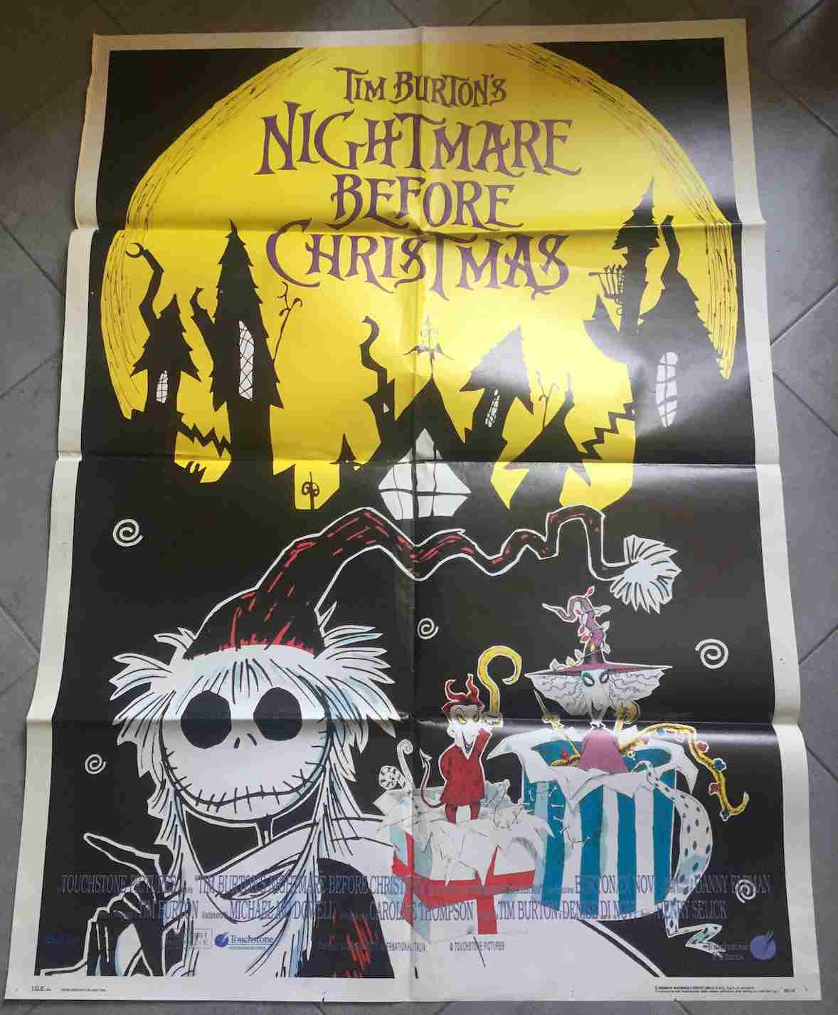 manifesto Nightmare Before Christmas