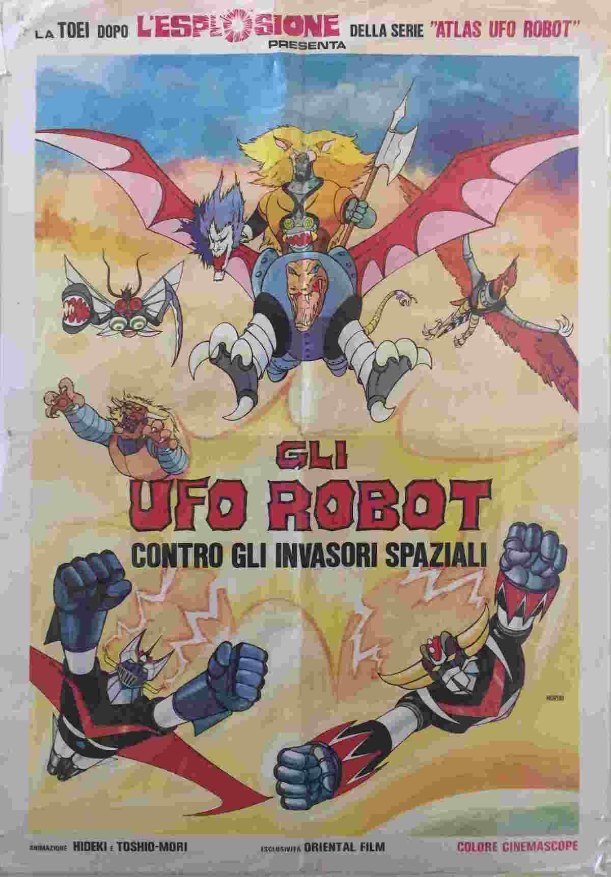 soggettone Gli Ufo Robot