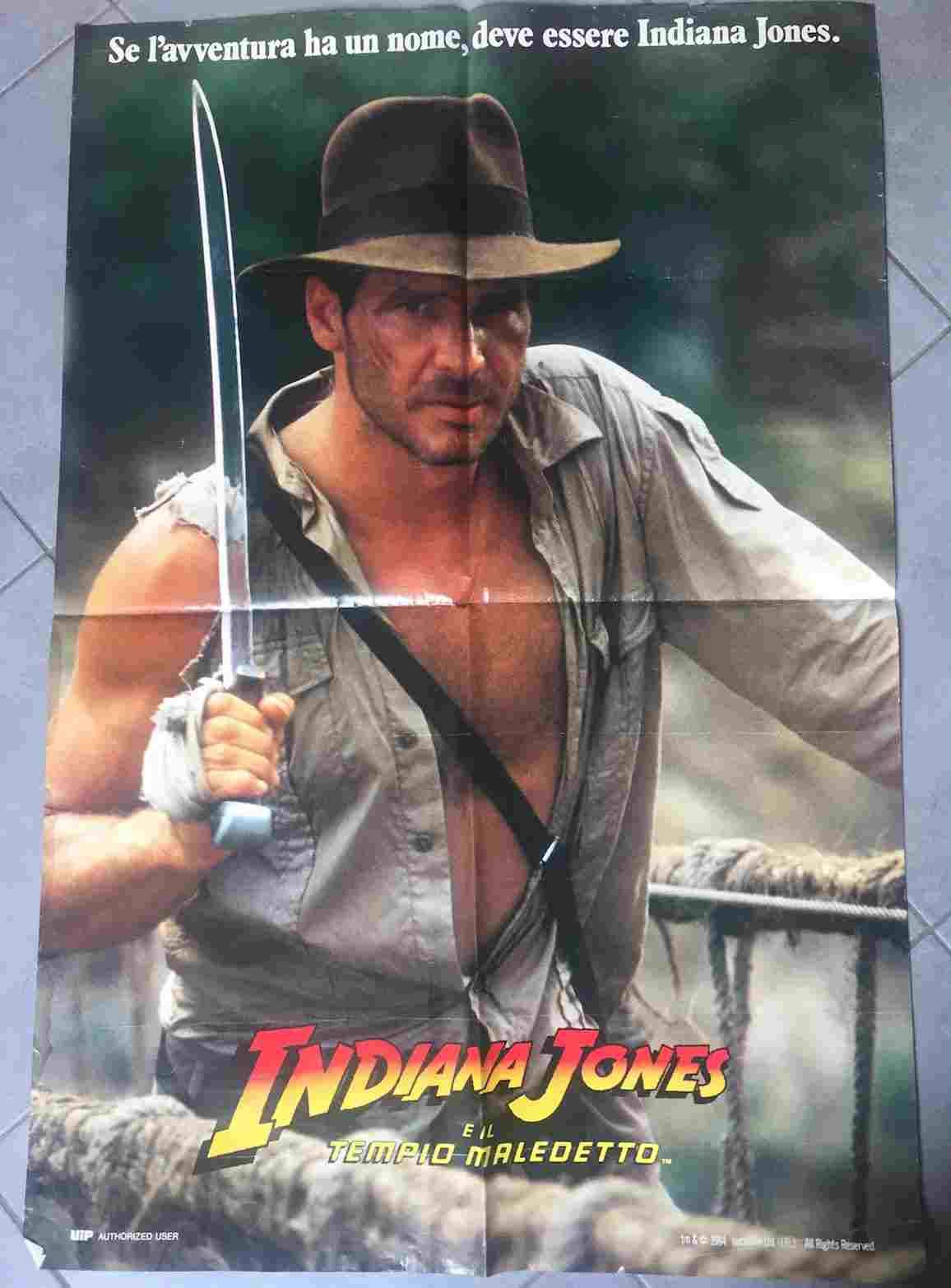soggettone Indiana Jones e il Tempio Maledetto
