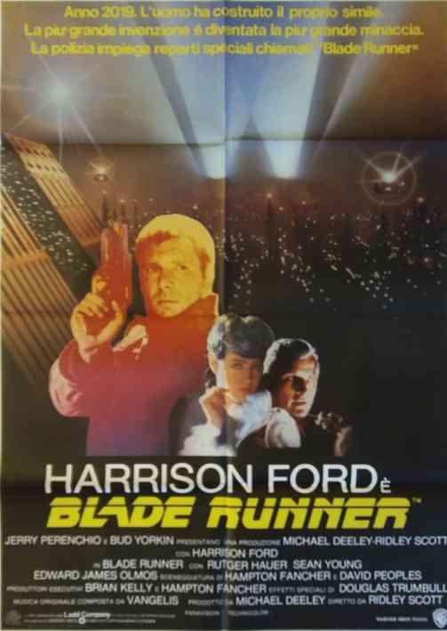 Manifesto Blade Runner