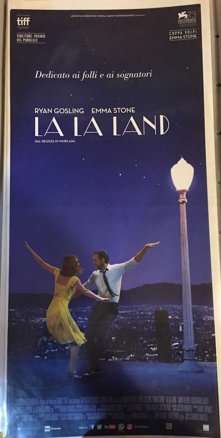 Locandina La La Land
