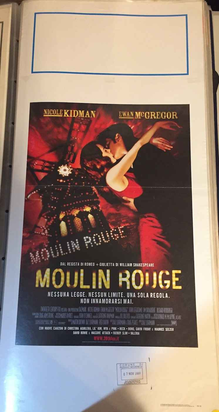 Locandina Moulin Rouge