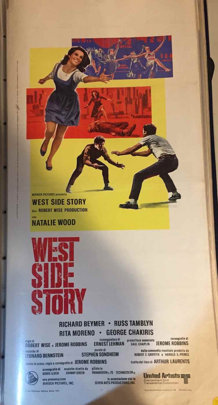 Locandina West Side Story