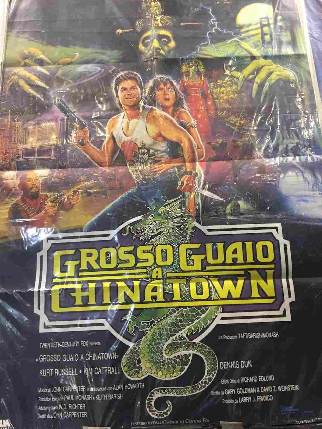manifesto Grosso Guaio a Chinatown
