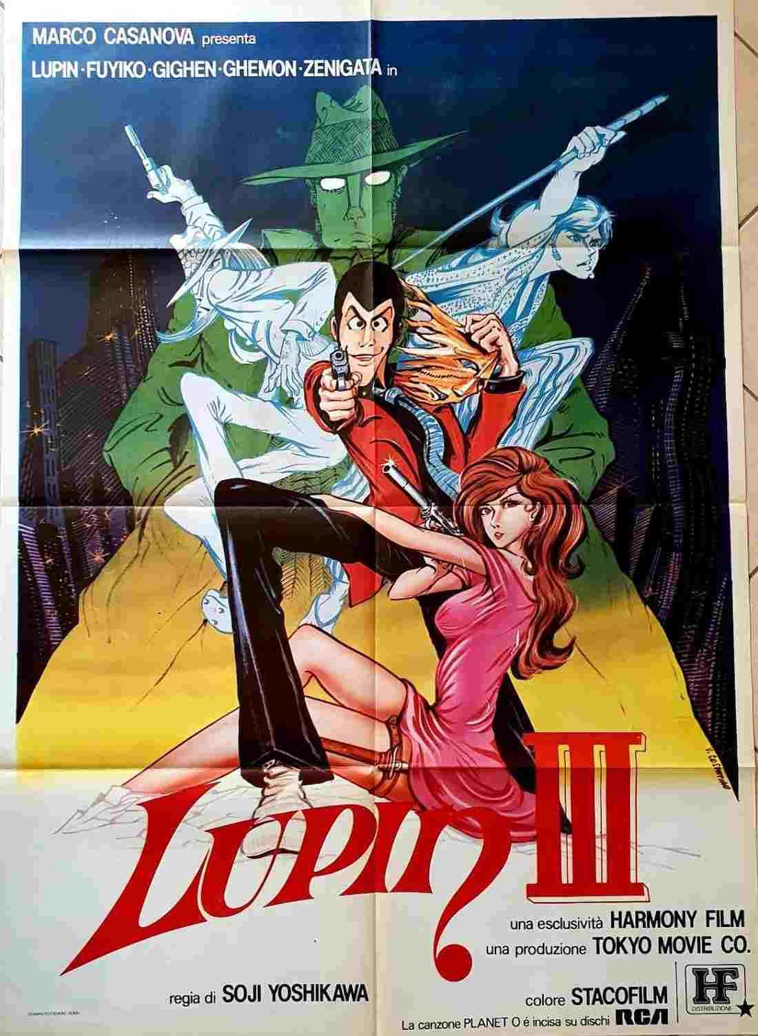 manifesto Lupin III