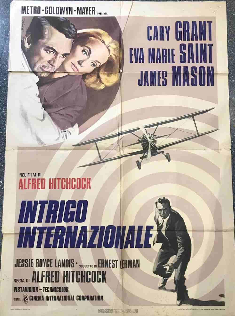 manifesto Intrigo Internazionale