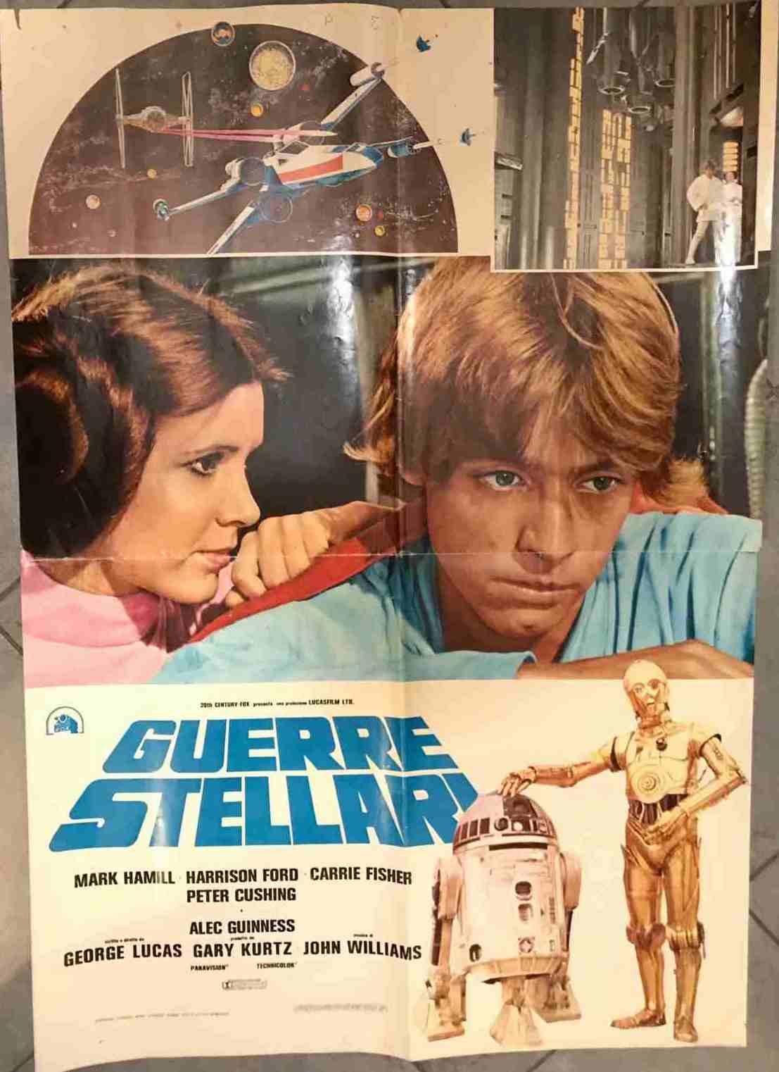 soggettone guerre stellari 77 Leila e Luke