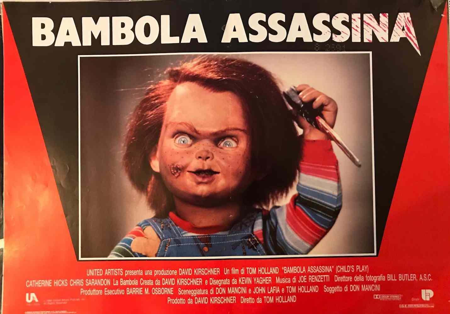 Fotobusta Bambola Assassina