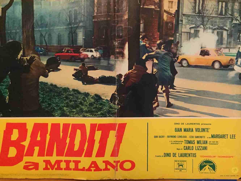 Fotobusta Banditi a Milano